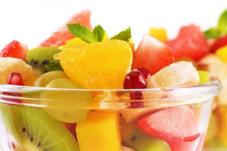 Démo – Découpe de fruits