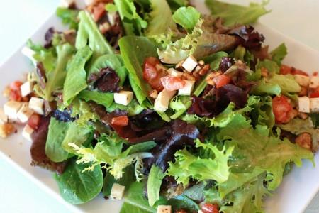 Salade verte à l'italienne